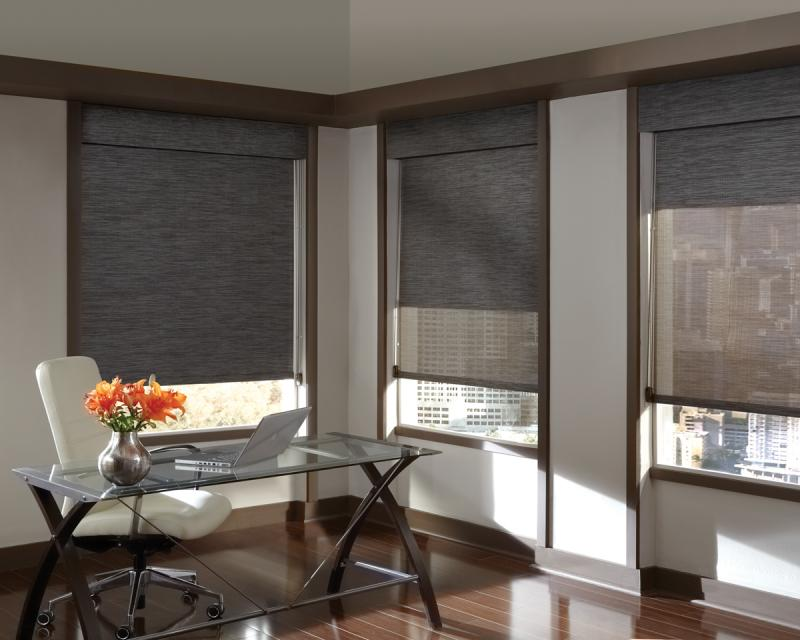 Business window coverings home for Window shades for homes